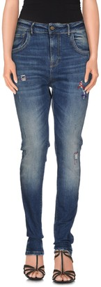 Manila Grace DENIM Denim pants - Item 42500272FF