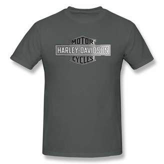 Harley-Davidson DavidBill T-Shirt for Men Logo Cool Short Sleeve Tee
