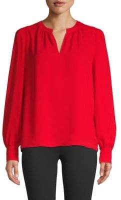 Saks Fifth Avenue Classic Long-Sleeve Blouse