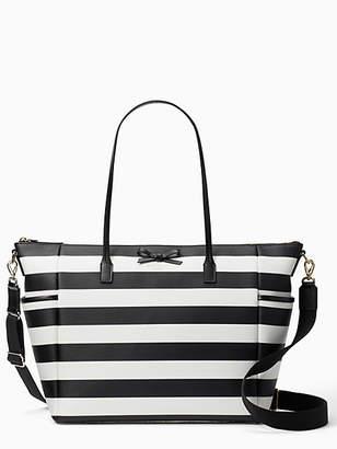 Kate Spade Eden street stripe adaira baby bag