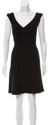 Diane von Furstenberg Wool Blend Mini Dress
