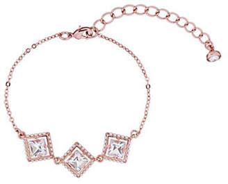 Ted Baker Palilla Pearl Frame and Swarovski Crystal Square Bracelet