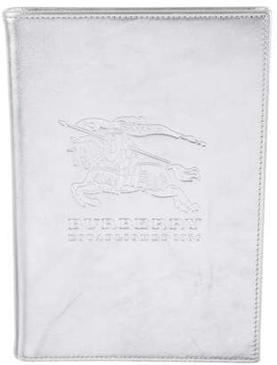 Burberry Embossed Metallic Notebook