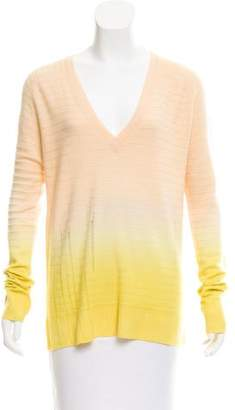 Raquel Allegra Wool Cashmere-Blend Ombré Sweater w/ Tags