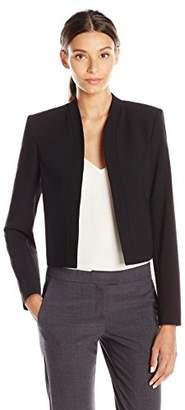 Lark & Ro Women's Short Blazer