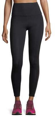 Beyond Yoga Sheer Illusion High-Waist Midi Performance Leggings