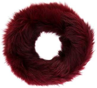 Yves Salomon rounded neck scarf