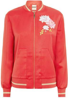 Ted Baker Ruuthe Embroidered Bomber Jacket