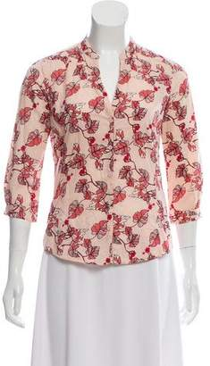 Ben Sherman Floral Button-Up Top