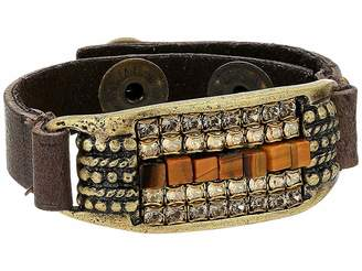 Leather Rock Trudy Bracelet