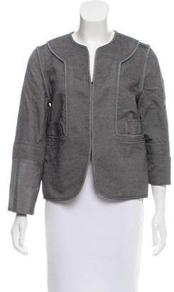 Pringle Twill Collarless Jacket