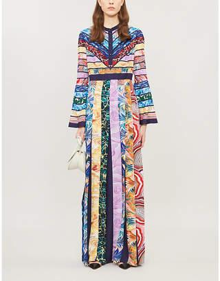 Mary Katrantzou Desmine graphic-print crepe maxi dress