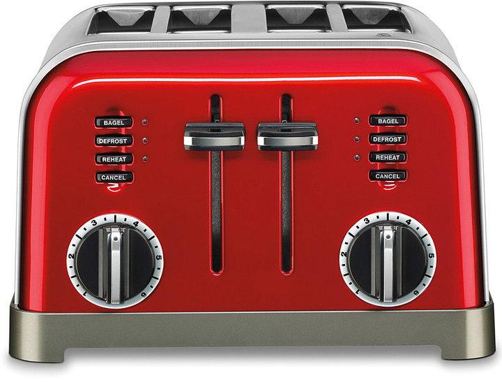 Cuisinart CPT-180MR Toaster, 4 Slice Metallic Red