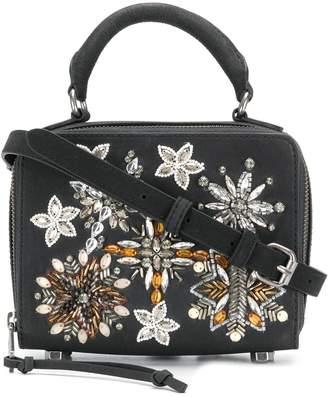 Rebecca Minkoff embellished box cross body bag