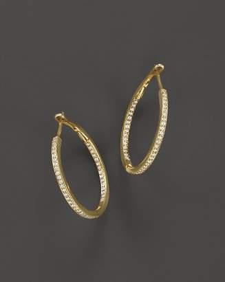 Bloomingdale's Diamond Inside-Out Hoop Earrings in 14K Yellow Gold, .30 ct. t.w. - 100% Exclusive