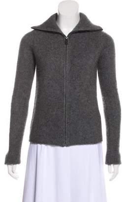 Zadig & Voltaire Cashmere Zip-Up Sweater