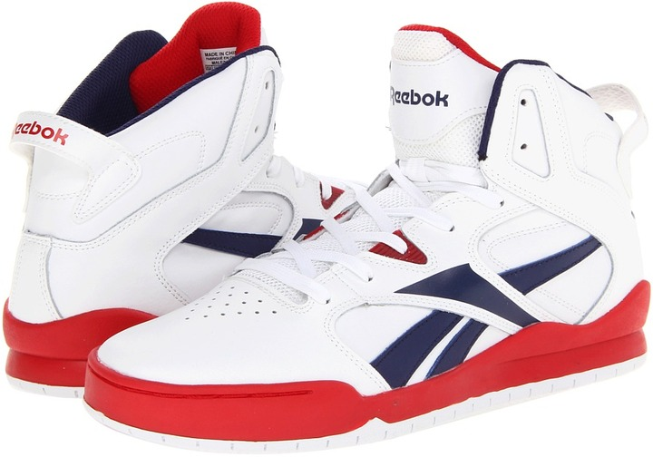 Reebok BB4700 Mid (Black/Excellent Red/White) - Footwear