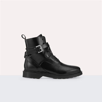 Maje Long leather boots