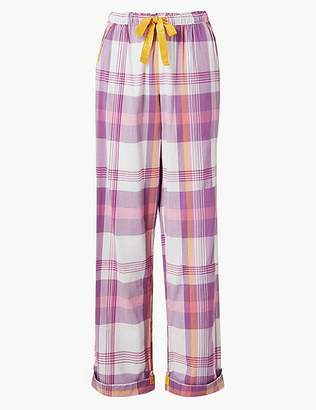 Marks and Spencer Checked Pyjama Bottoms
