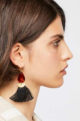 SANDY HYUN Resin Tassel Single Earring