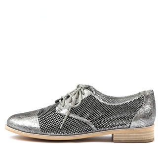 Django & Juliette Alstry Pewter Shoes Womens Shoes Casual Flat Shoes