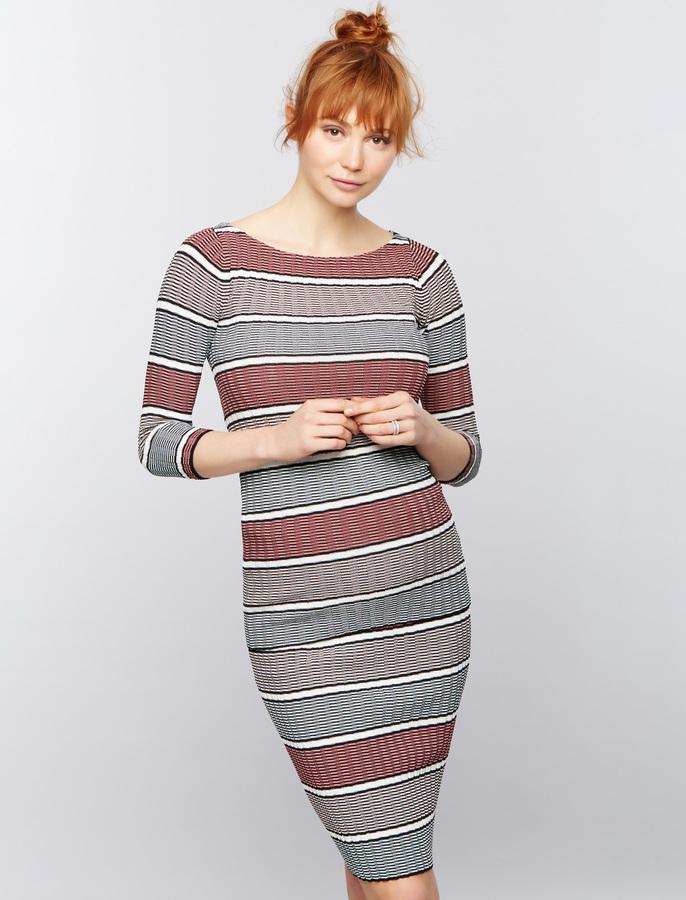 A Pea In The PodRib Knit Maternity Sweater