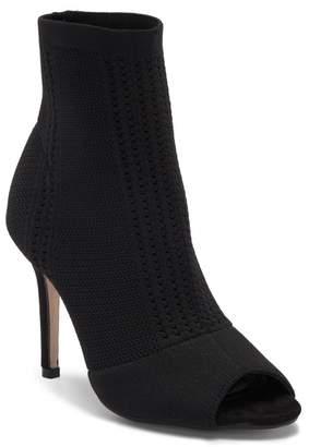 Catherine Malandrino Knitty Open Toe Stiletto Heel Knit Bootie