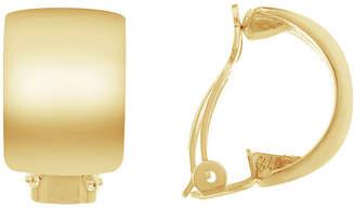 Gloria Vanderbilt Yellow Clip On Earrings