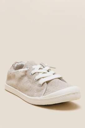 Madden-Girl Baailey Canvas Sneaker - Tan