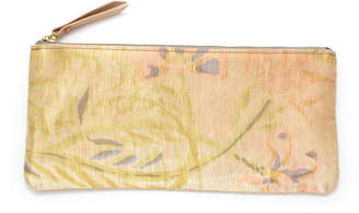 Knickers & Whiskey Vintage Brushstroke Floral Envelope Pouch
