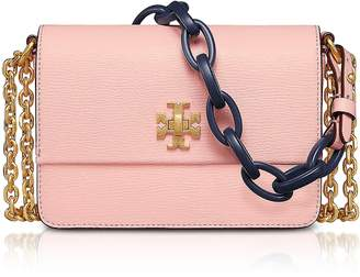 Tory Burch Kira Opulent Pink Leather Mini Shoulder Bag
