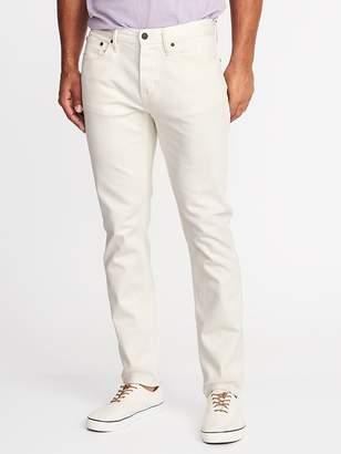 Old Navy Relaxed Slim Built-In Flex Clean-Slate Jeans for Men
