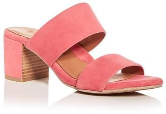Kenneth Cole Gentle Souls Women's Cherie Suede Block Heel Slide Sandals - 100% Exclusive