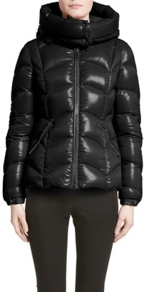 Women's Moncler Akebia Quilted Down Jacket $1,200 thestylecure.com