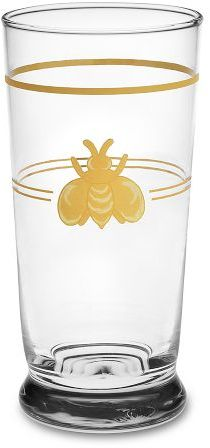 Bumble Bee Glasses, Set of 4