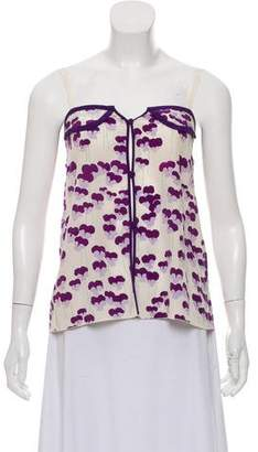 Marc Jacobs Floral Silk Blouse