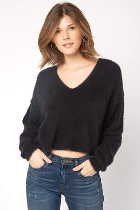 Free People Princess V Neck Sweater