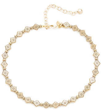 Vanessa Mooney The Mesa Choker Necklace $95 thestylecure.com