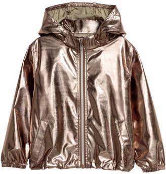 H&M Shimmering metallic jacket - Orange