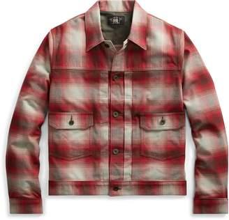 Ralph Lauren Plaid Cotton-Wool Jacket