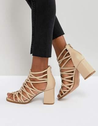 Asos Design THISTLE Block Heeled Sandals