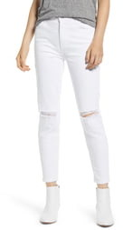 Current/Elliott The Stiletto High Waist Ankle Skinny Jeans