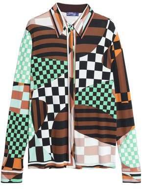 Emilio Pucci Printed Jersey Shirt