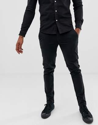 Kiomi chino trousers in black