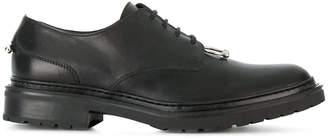 Neil Barrett pierced lace-up shoes