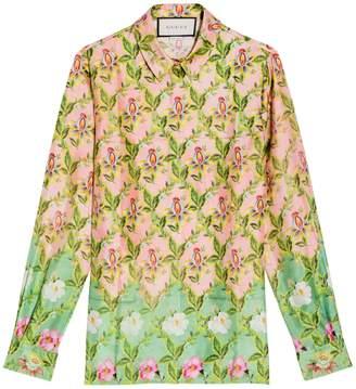 Gucci Floral Long Sleeves Shirt
