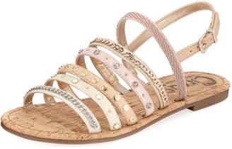 Sam Edelman Bev Strappy Embellished Sandal
