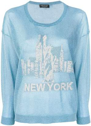 Twin-Set New York knitted top