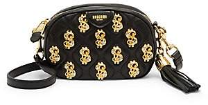 Moschino Women's Dollar Sign Embellished Crossbody Bag