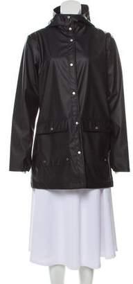 Herschel Long Hooded Raincoat